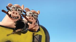 Shaun The Sheep - Season 2, Episode 33 (Pig Swill Fly)
