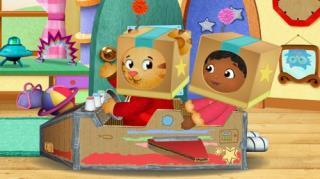 Daniel Tiger's Neighbourhood - Season 1, Episode 11 (Daniel & Miss Elaina Play Rocketship)