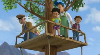 Fireman Sam - Season 9, Episode 13 (Treehouse Trouble)