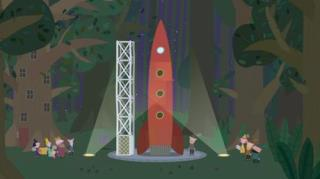 Ben And Holly's Little Kingdom - Season 1, Episode 44 (The Elf Rocket)
