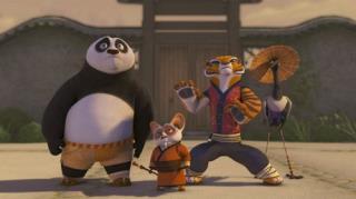 Kung Fu Panda: Legends Of Awesomeness - Season 1, Episode 2 (Sticky Situation)