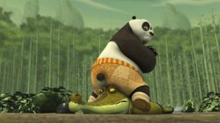 Kung Fu Panda: Legends Of Awesomeness - Season 1, Episode 11 (Good Croc, Bad Croc)