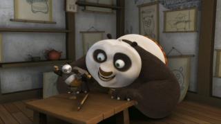 Kung Fu Panda: Legends Of Awesomeness - Season 1, Episode 12 (Po Fans Out)