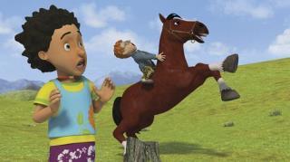 Season 10, Episode 1 (Runaway Horse)