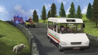 Fireman Sam - Season 10, Episode 6 (Bus Trouble)