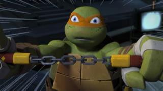 Teenage Mutant Ninja Turtles - Season 2, Episode 19 (Pizza Face)
